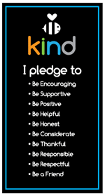Our Be Kind Pledge