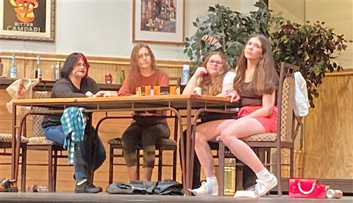 The Apache Junction High Drama Department killed it in an all-female version of The Odd Couple.